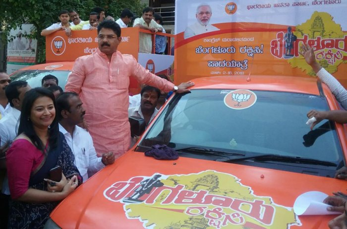 BJP to launch 14-day 'protect Bengaluru' march from tomorrow