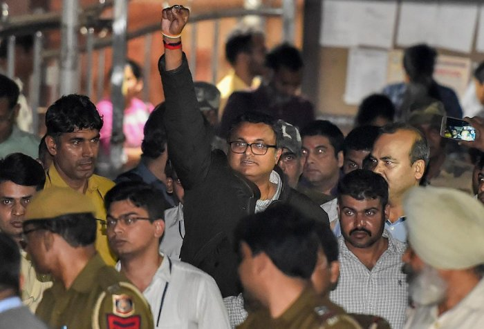 Karti's custodial interrogation needed to unearth larger conspiracy: Court