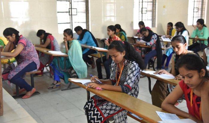 II PU exams off to smooth start