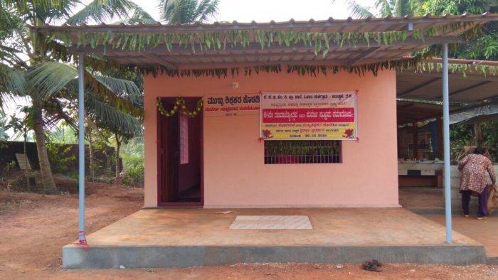 Gutsy parents construct office room at Ojala govt primary school