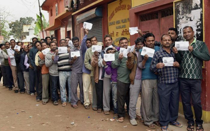 73% votes polled in Nagaland re-polling