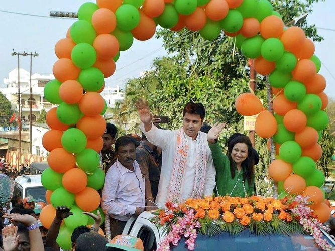 Tripura BJP, ally to elect leader on Mar 6