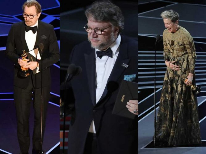 'The Shape of Water' bags best picture Oscar; Guillermo del Toro best director