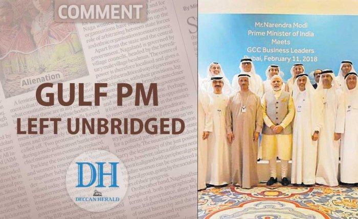 Gulf PM left unbridged