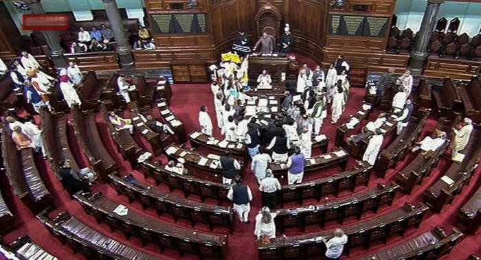 Opposition disrupts Rajya Sabha for 2nd day over PNB fraud