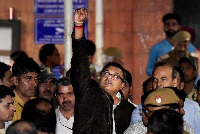 Wreckless, wild allegations levelled at me: Karti