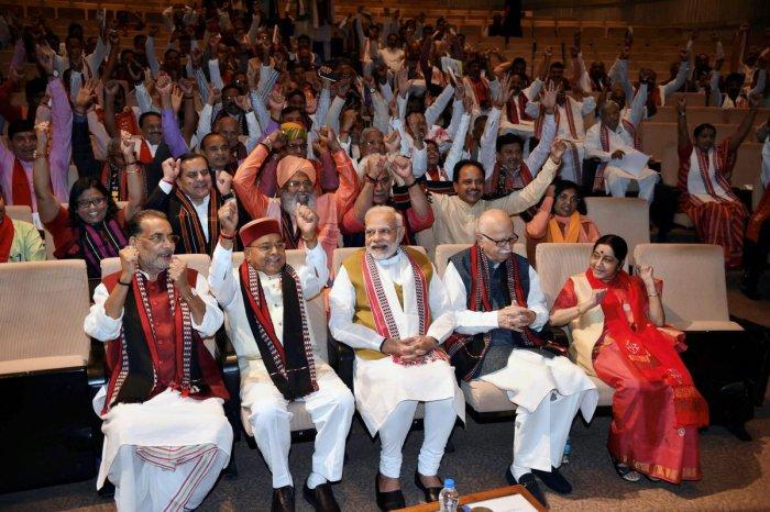 Tripura an ideological victory: Modi
