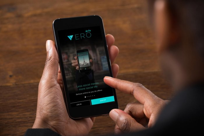 Vero seems to be more than just social networking...