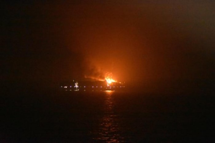 Maersk ship catches fire near Lakshadweep, 4 missing