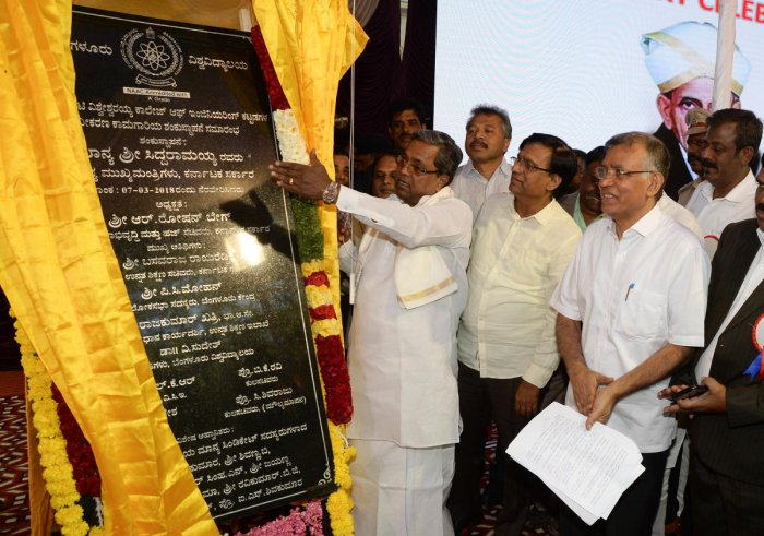 UVCE's 100th year marked with inauguration of restoration work