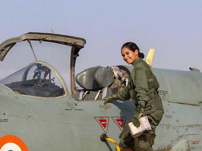 India's first woman fighter pilot Avani Chaturvedi conquers the sky