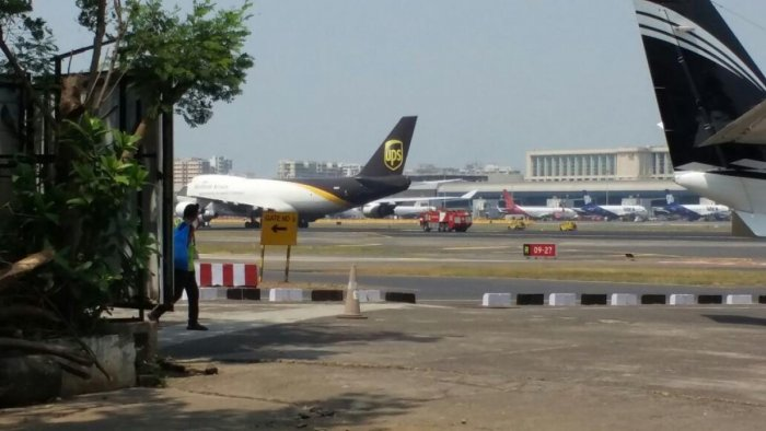 Cargo plane makes emergency landing in Mumbai