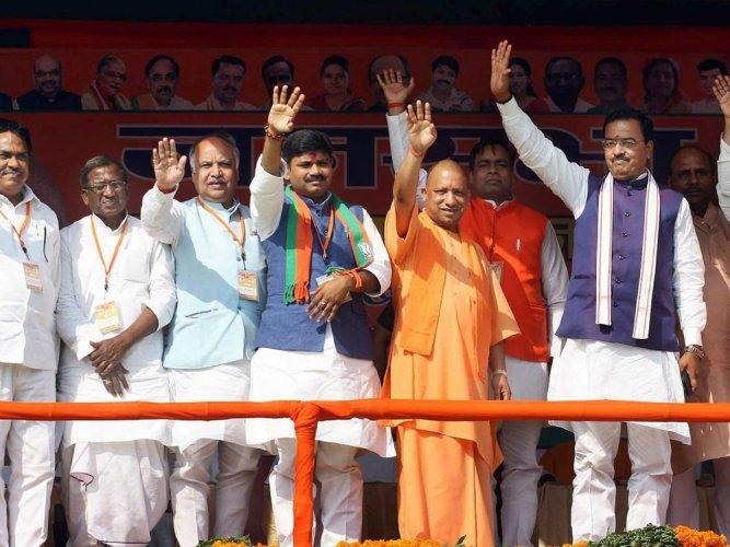 Yogi toils to ensure saffron win on home turf