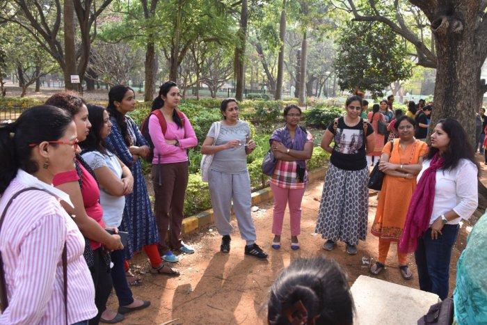 Women leaders inspire fellow visionaries at mentoring walk
