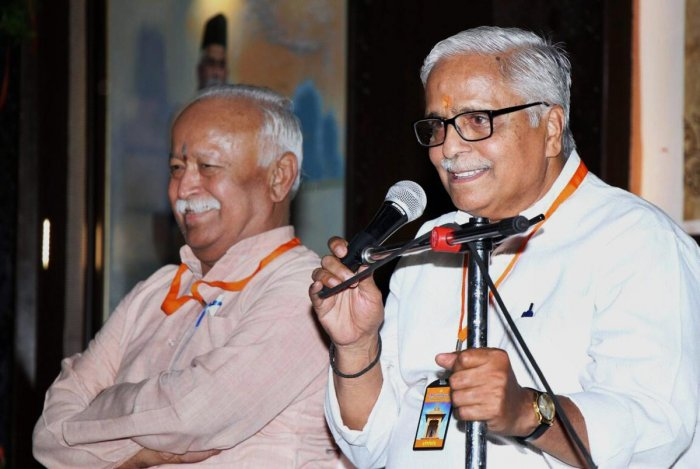 Joshi re-elected RSS general secy