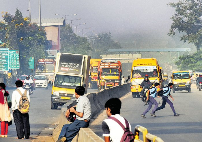 City pollution levels drop by 15.6% on Less Traffic Day: KSPCB