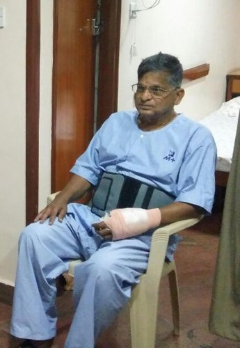 Justice Shetty discharged from hospital
