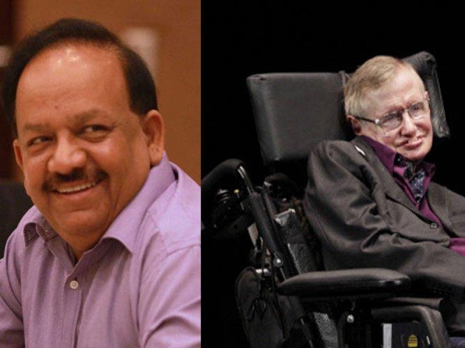Vardhan invokes Hawking's name to claim Vedas contain theories superior to Einstein formula