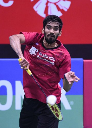 Srikanth blasts 'ridiculous' calls as he exits in round two