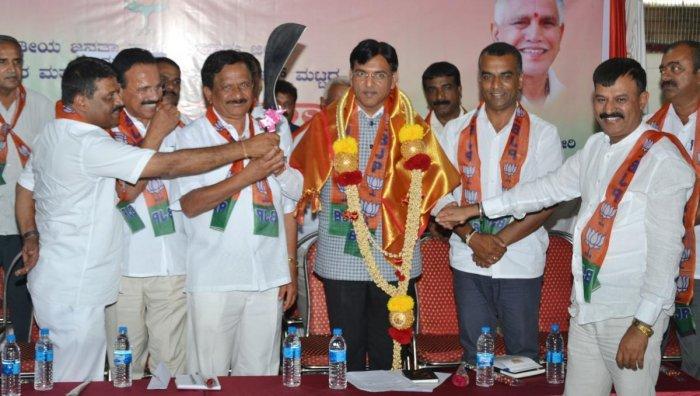 Karnataka is ATM for Congress high command: Sadananda Gowda