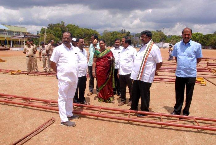 Preparations in full swing for Rahul Gandhi's visit on Mar 21