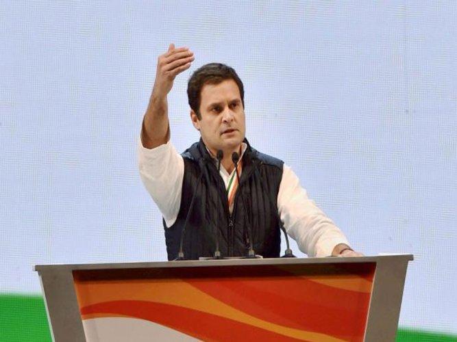 Modi symbolises collusion of crony capitalists and PM: Rahul Gandhi