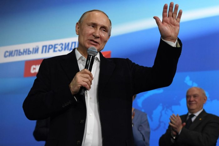 Vladimir Putin Cruises To Landslide Victory In Russia S Presidential Election Deccan Herald