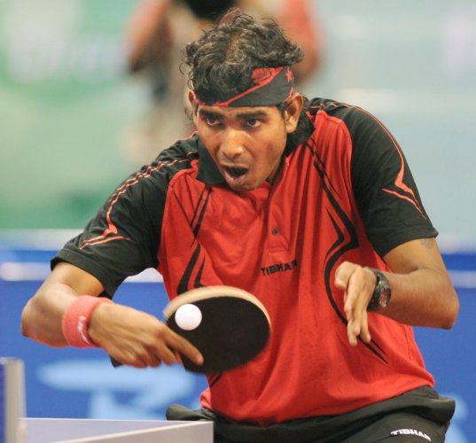 Sharath seeks another double
