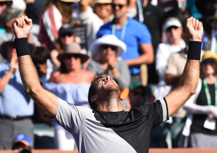 Back-to-back titles for Del Potro
