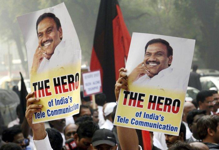 2G case: ED challenges Raja's acquittal in Delhi HC