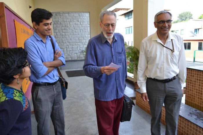 Gandhian economist sees hope in young Indian innovators