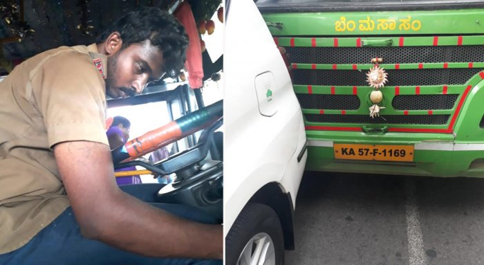 Passengers find BMTC driver drunk at the wheel