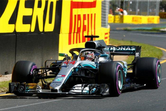 Hamilton dominates practice