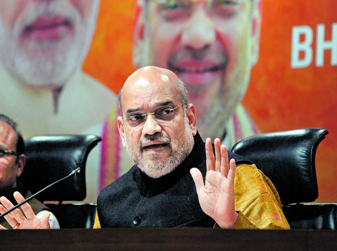 TDP's decision to quit NDA 'wholly and solely' guided by politics: Amit Shah