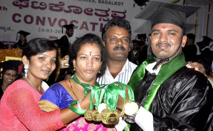 Parents plant dreams for son, he reaps rich harvest