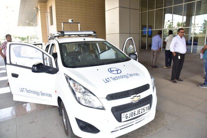 L&T Techology Services develops autonomous vehicle platform