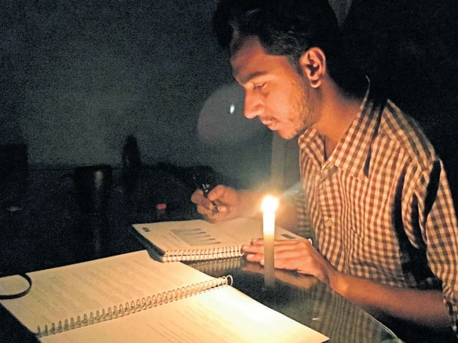 Several areas face power cuts