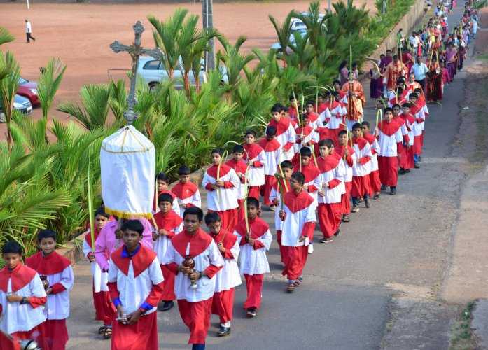 Palm Sunday observed with fervour