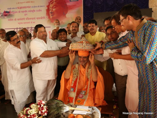 'Yugapurusha' award for Jain seer