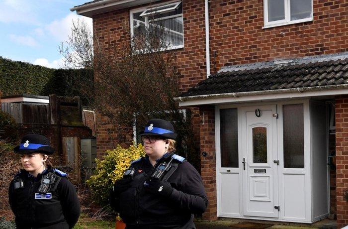 Skripals poisoned from front door of Salisbury home: UK police