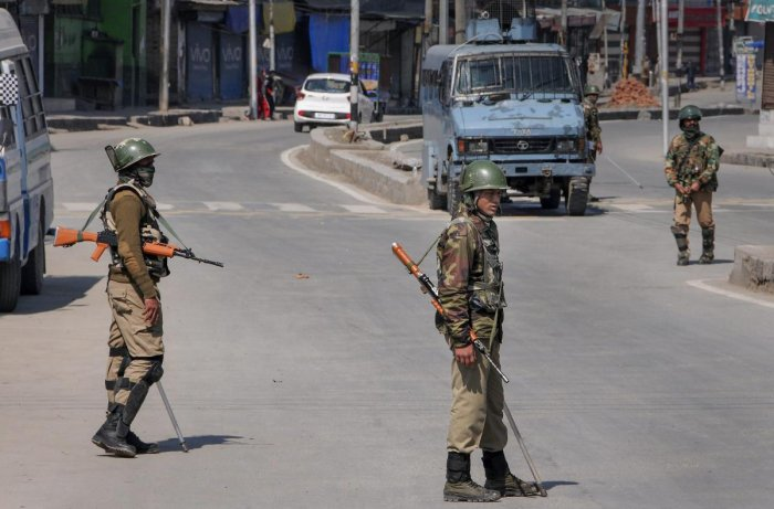 Shopian shoot-out: Injured militant in hospital