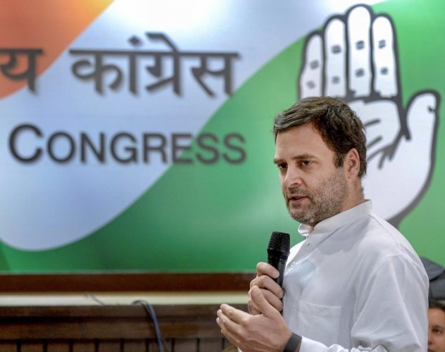 Next up from PM Modi, book on stress relief after lives destroyed by paper leaks: Rahul Gandhi