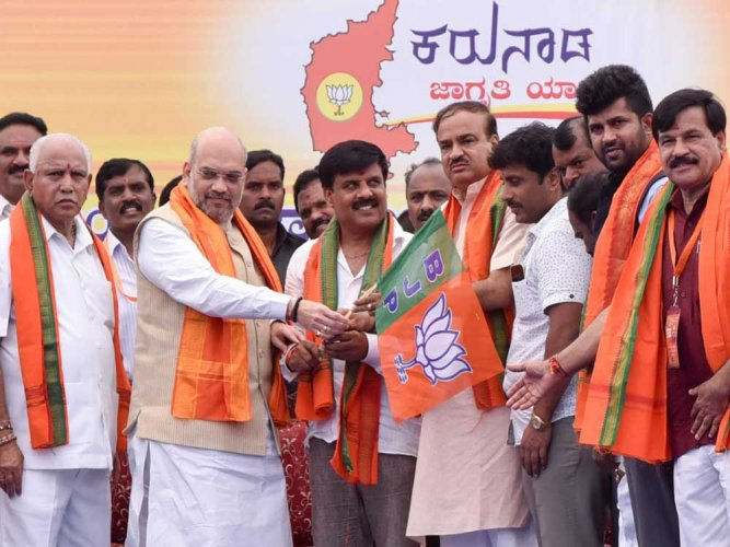Shah to tour Mumbai-Karnataka from Monday