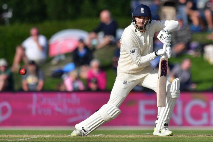 England in driver's seat