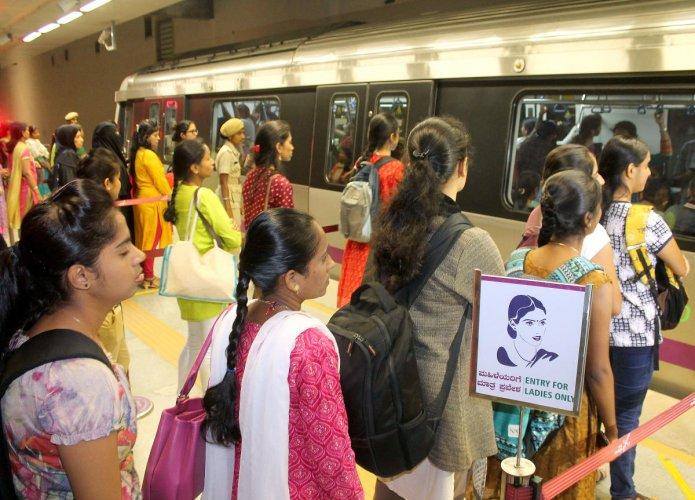 Men sneak through women-only metro doors, staff 'helpless'
