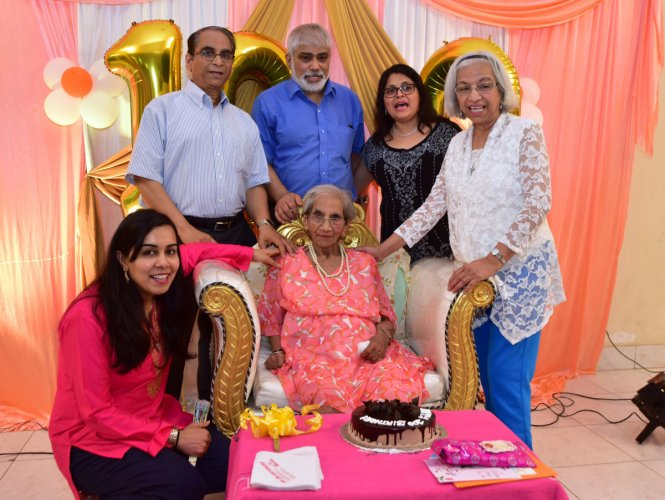 Woman dies during her mother's 100th b'day celebrations