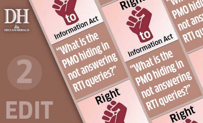 PMO, people have a right to know