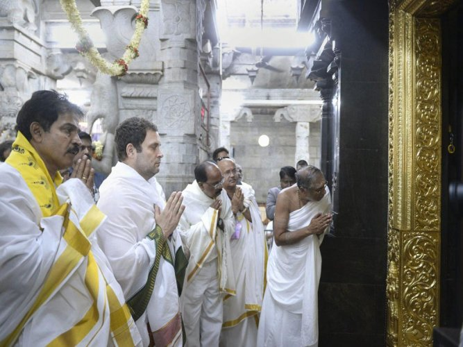 Rahul Gandhi to kickstart 5th leg of his campaign in Karnataka from today