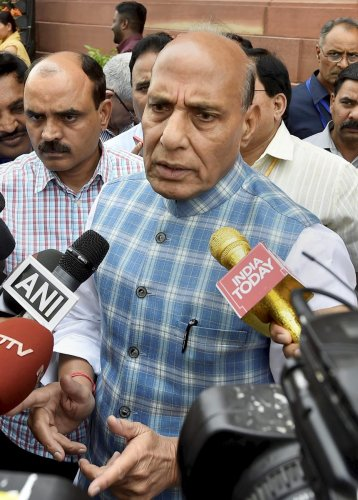 Modi govt committed to uphold SC/ST Act: Rajnath Singh