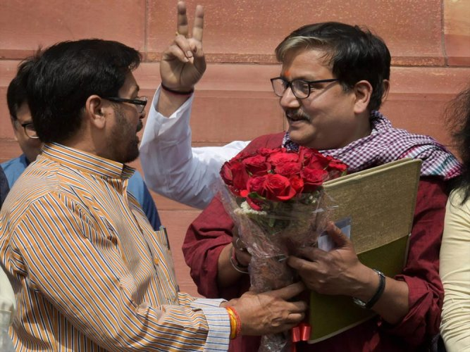 41 MPs take oath; RS adjourned for a day